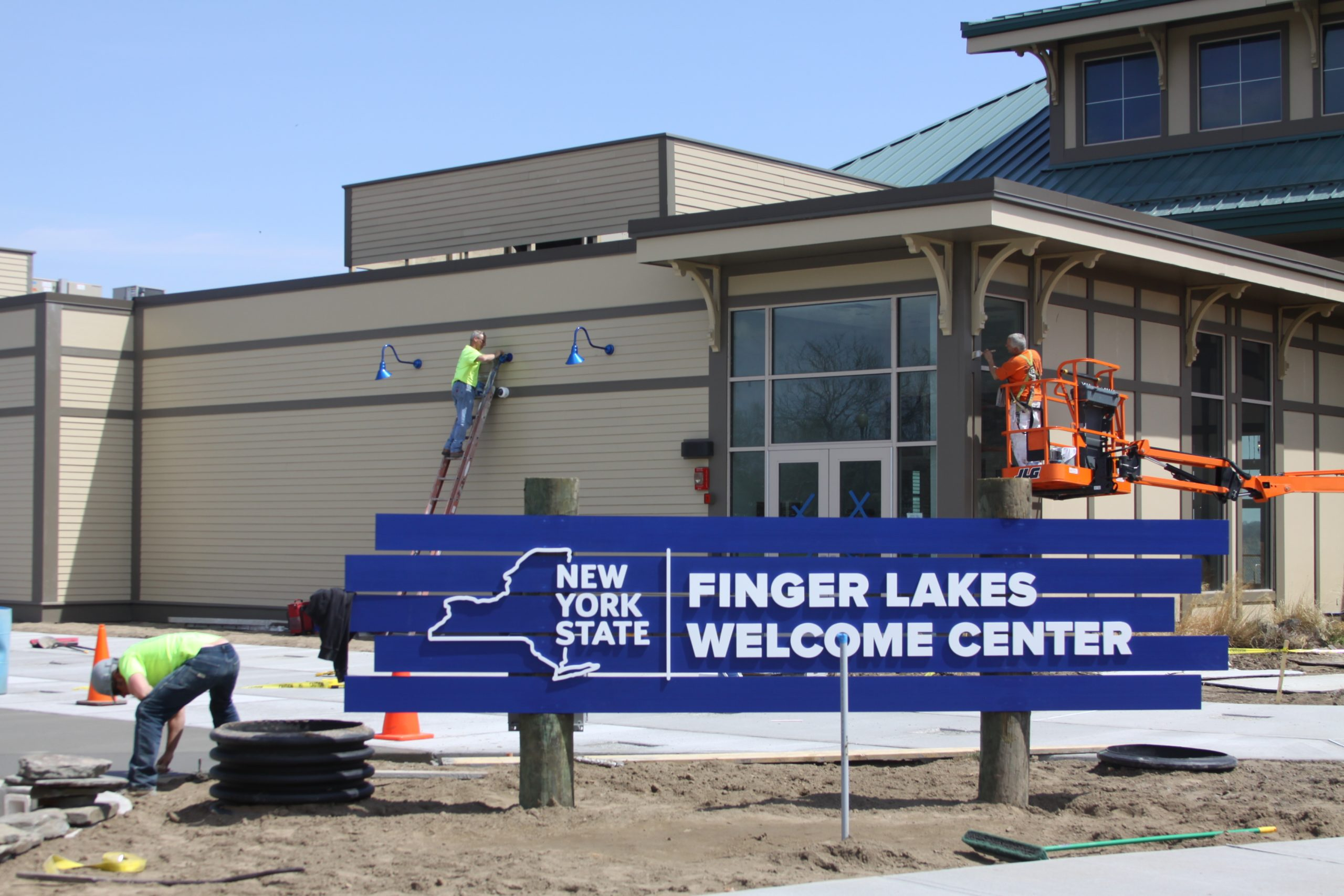 FL Welcome Center Opening Soon
