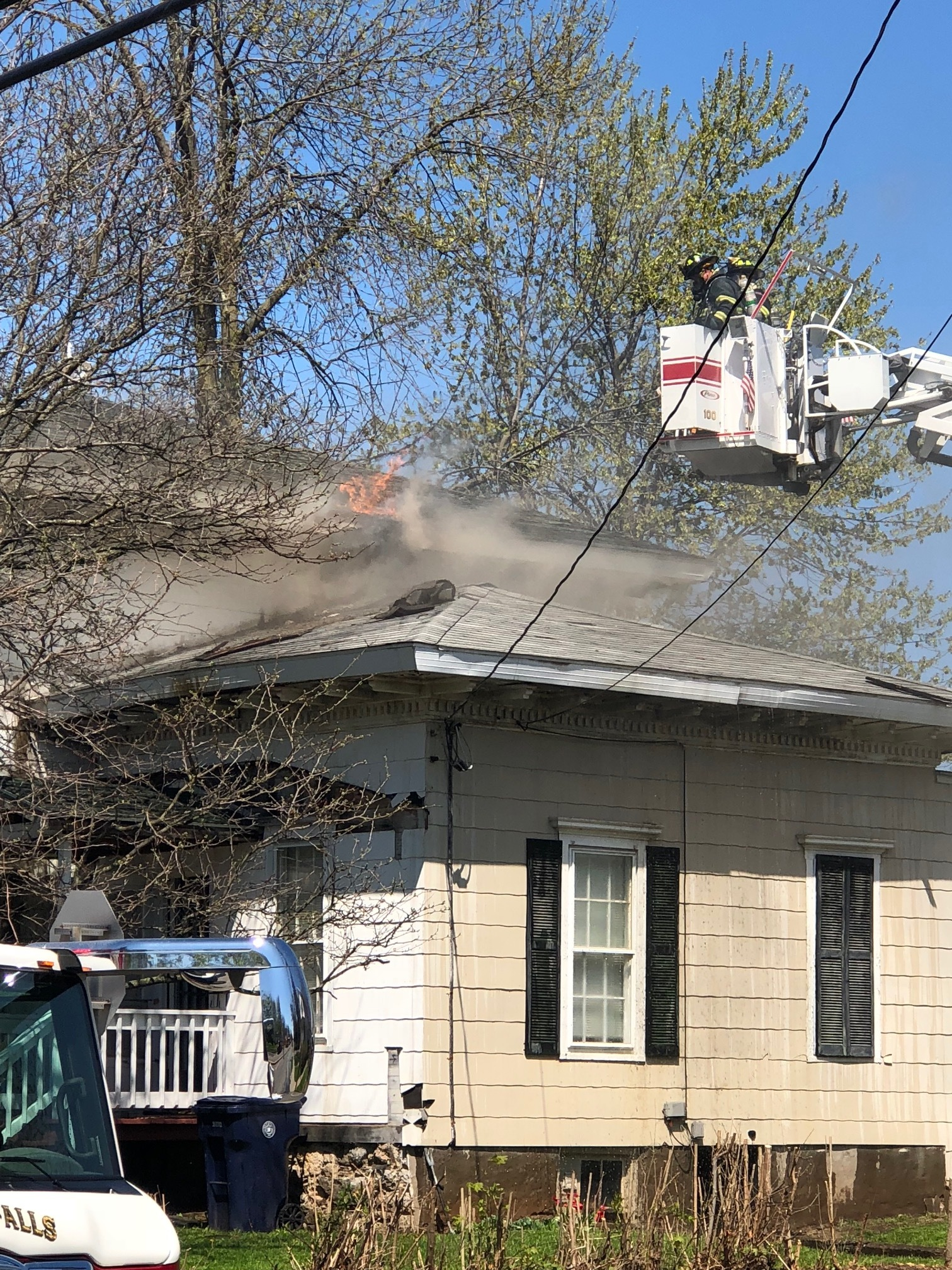 Five Departments Battle Seneca Falls House Fire