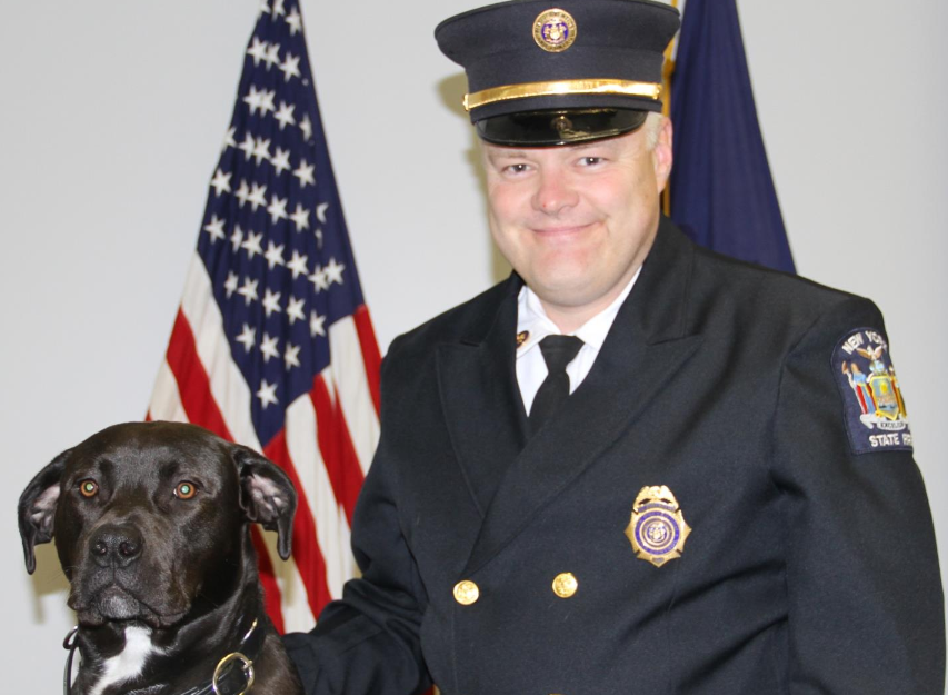 Four Dogs Graduate From Montour Falls Fire Academy
