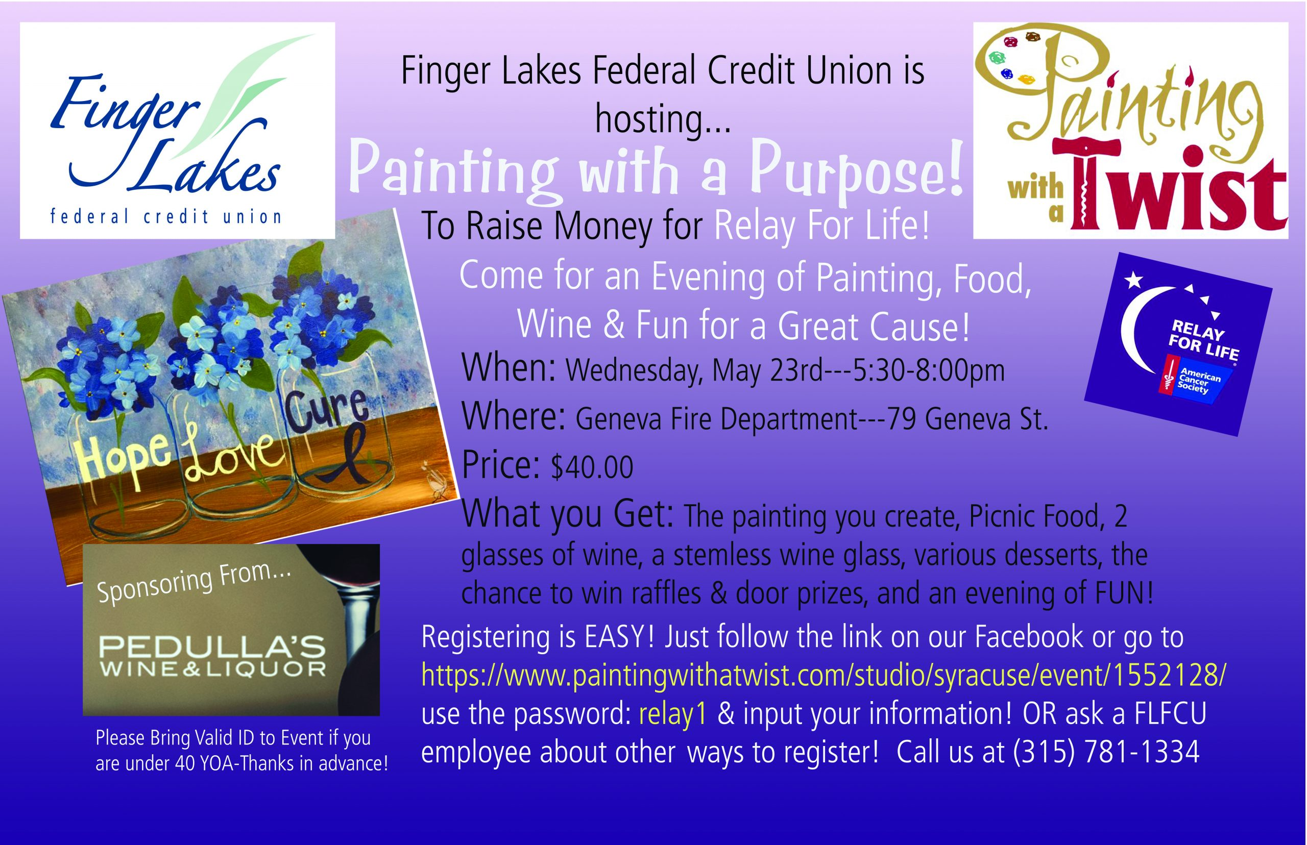 painting with a purpose finger lakes daily news