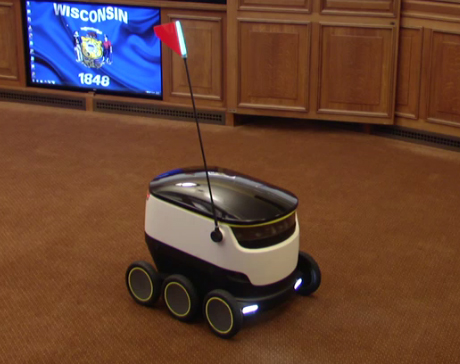 Proposal would allow unmanned delivery vehicles in Wisconsin