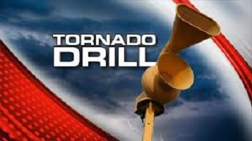Tornado Drills Scheduled for Today