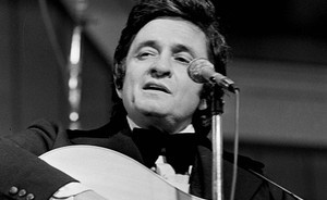 Bob Dylan jumped on the bed when he met Johnny Cash