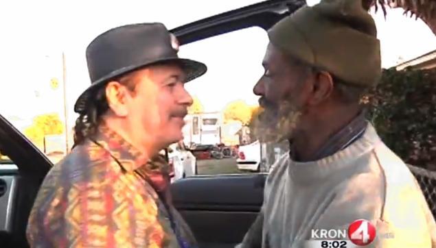 Santana Reunites With Homeless Former Band Member