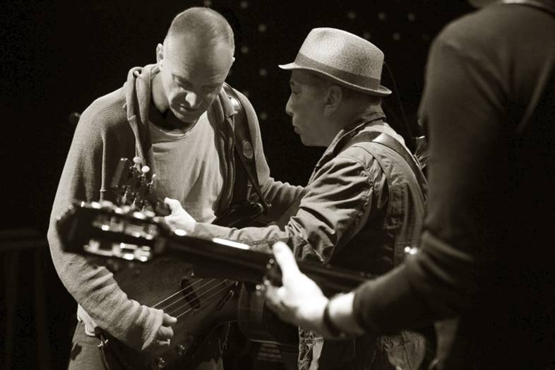 Paul Simon and Sting might write music together
