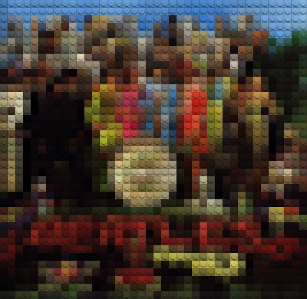 Classic Album Covers Get the Lego Treatment