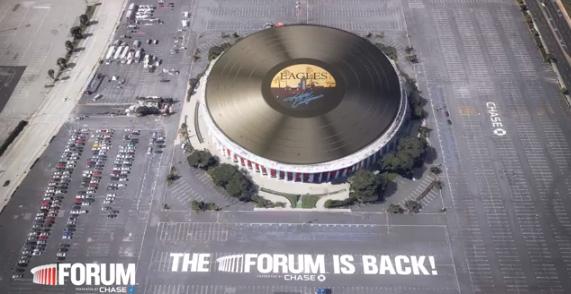 The Eagles 'Hotel California' Becomes Gigantic Vinyl Record
