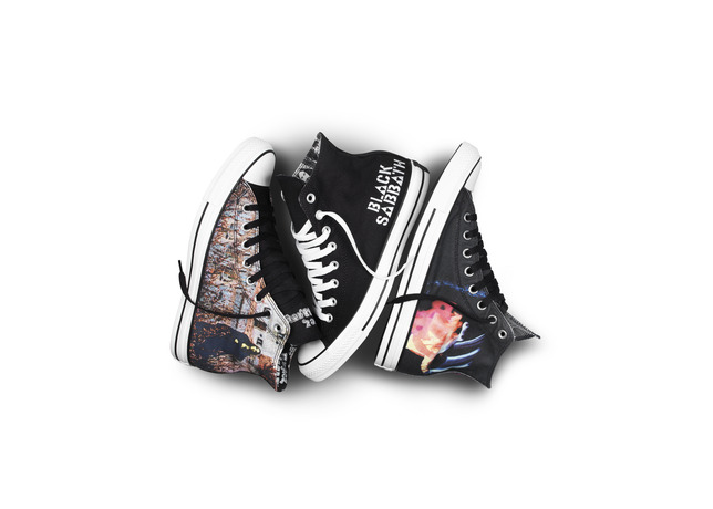 Black Sabbath Teams With Converse For New Line Of Sneakers
