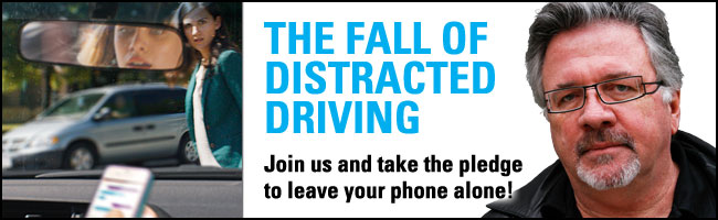 The Fall of Distracted Driving – Take the Pledge to Leave Your Phone Alone