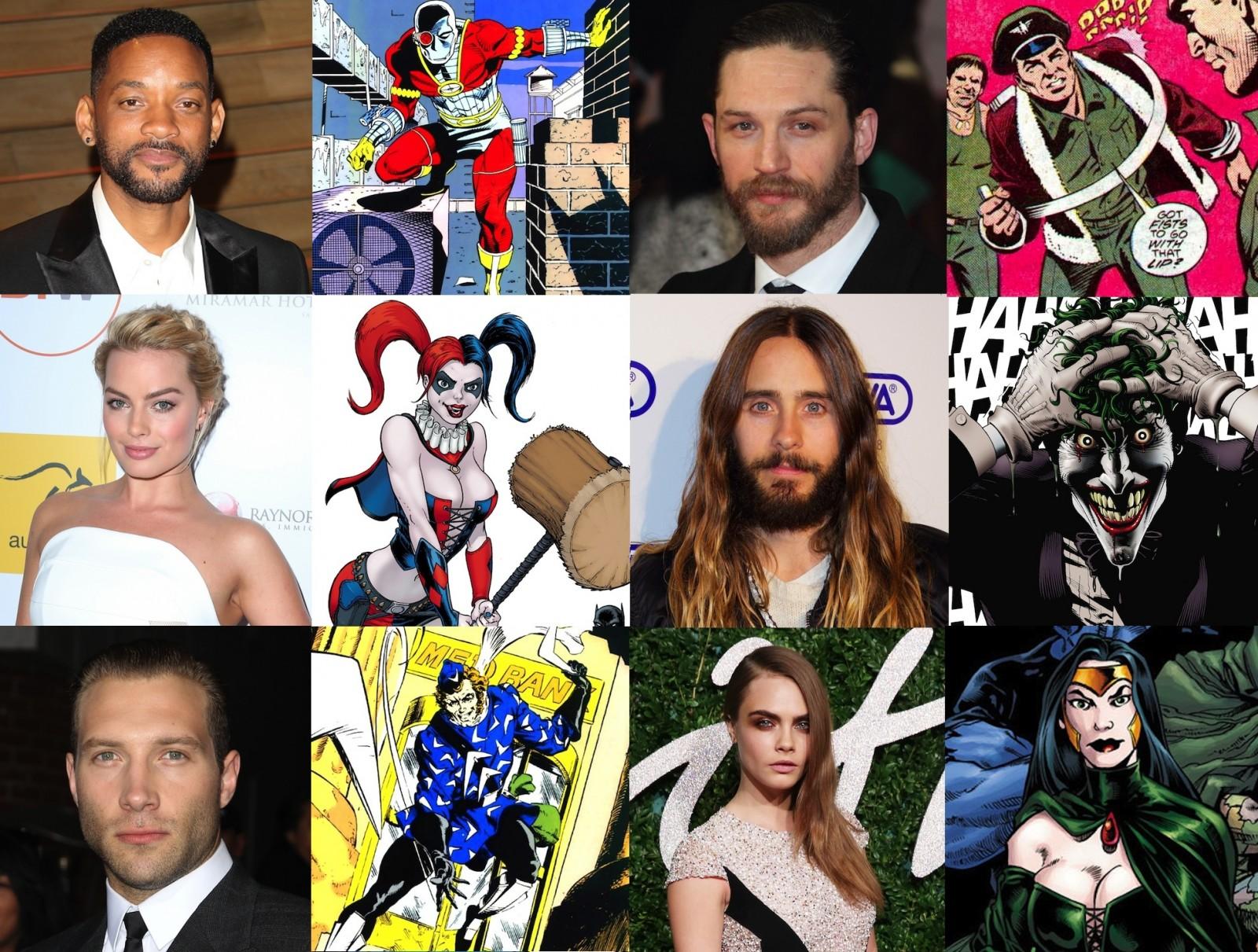 Suicide Squad Cast ANNOUNCED!!!