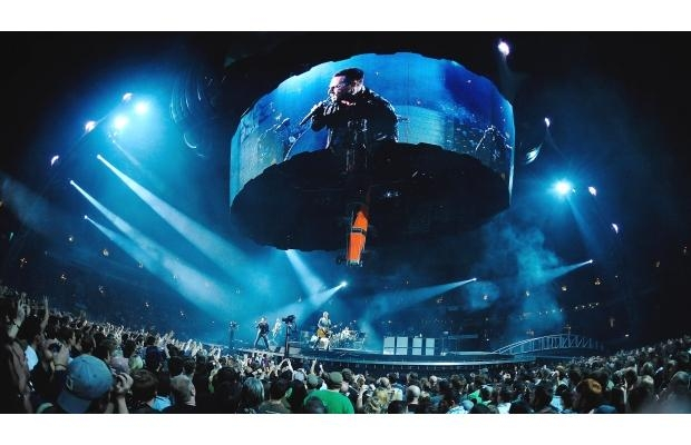 U2 tour history in Vancouver 1981-2014