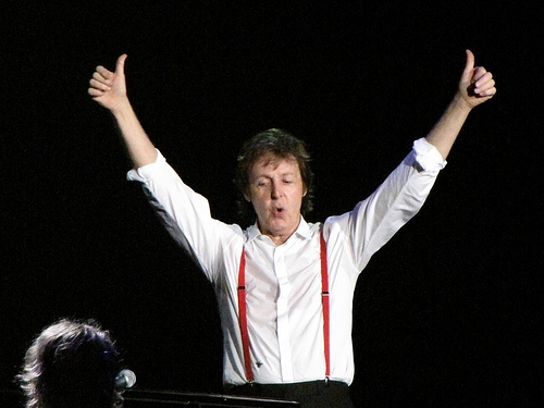 Sir Paul Offers Rare Wings Tracks For Free Download