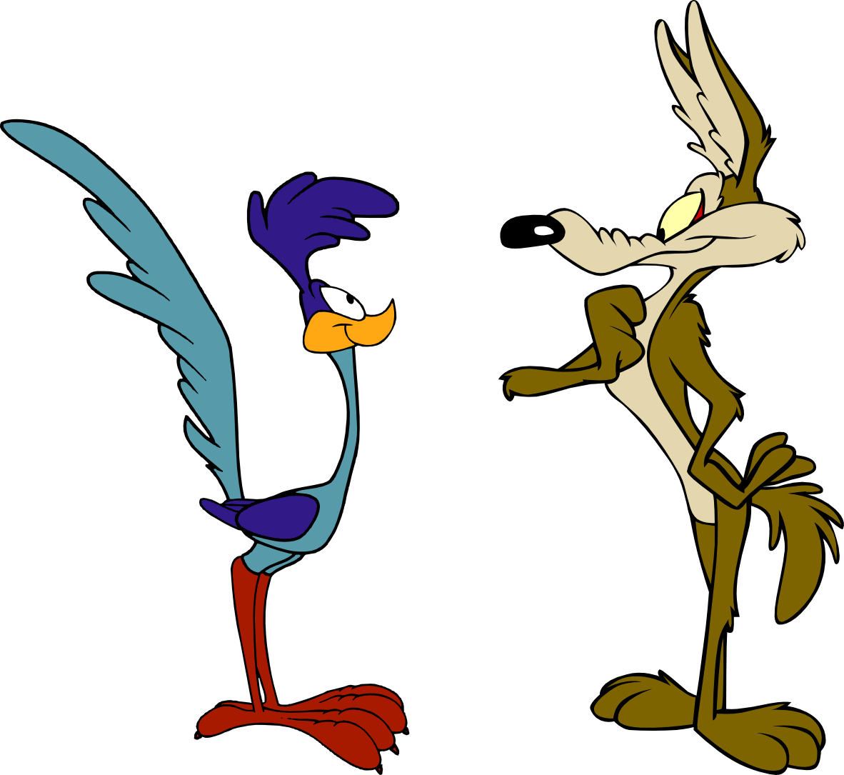 Rules for Wile E. Coyote and the Roadrunner.