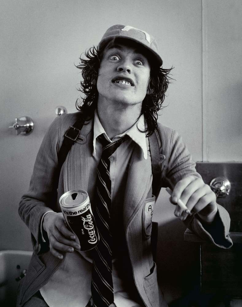Happy 60th Angus Young!!!