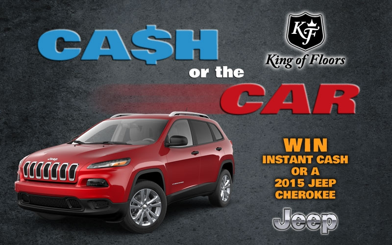 Cash or the Car Contest