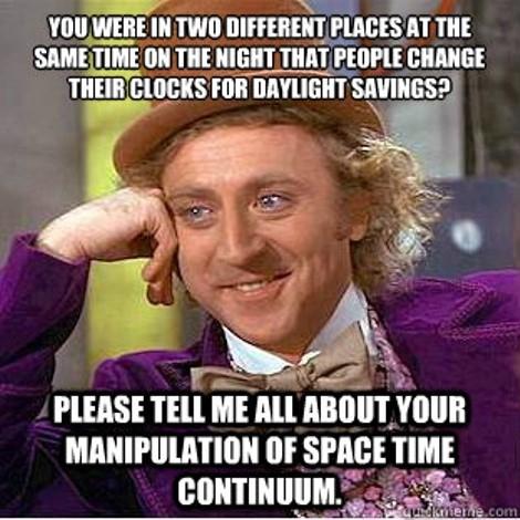 Daylight Saving Time with John Oliver.