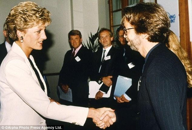 Did Eric Clapton and Princess Diana Hook Up?
