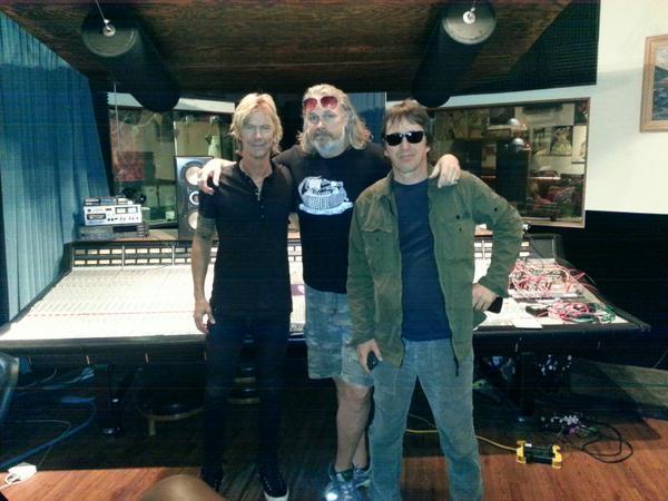 Former Guns N' Roses Members Record A Song
