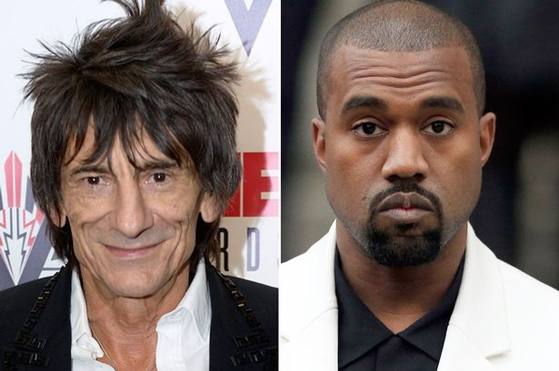 Ronnie Wood says there's no place for rap & r&b Glastonbury