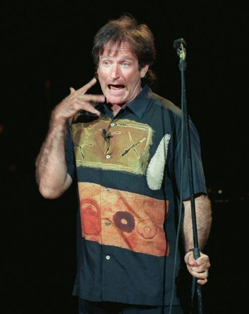 Robin Williams on Keith Richards