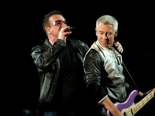 Have U2 Been Rehearsing At the Coliseum?