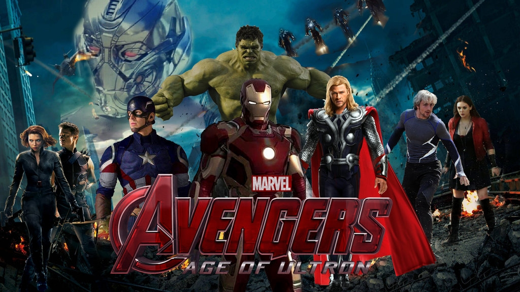 New Avengers Movie: Age of Ultron opens May 1st