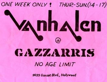 A Van Halen history lesson.