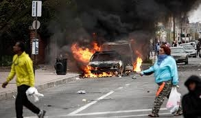 Rioting in the city of Baltimore...... The Good, the Bad, the Ugly....