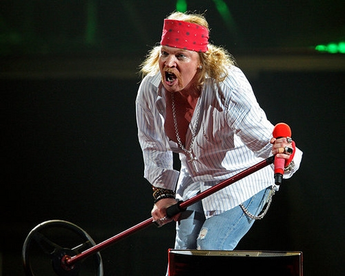 Axl Rose Wants Free Rematch