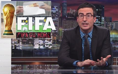 good time to re-watch john oliver trash FIFA 2014
