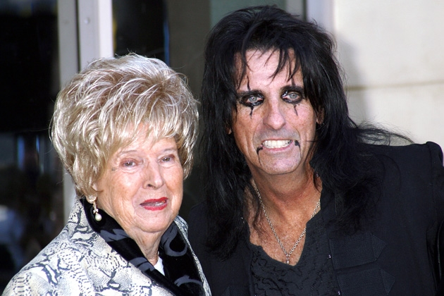 Alice Cooper Star on Hollywood Walk of Fame