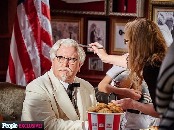 Darrell Hammond is the new Colonel Sanders....