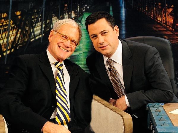 Kimmel Honours Letterman