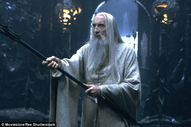 master of horror & lord of rings Christopher Lee r.i.p.
