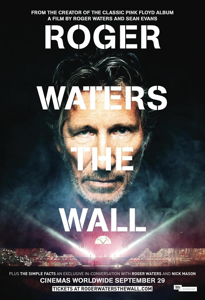 "Roger Waters ""THE WALL"" movie september 29"
