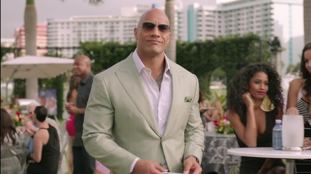 Entourage + football =....The Rock?