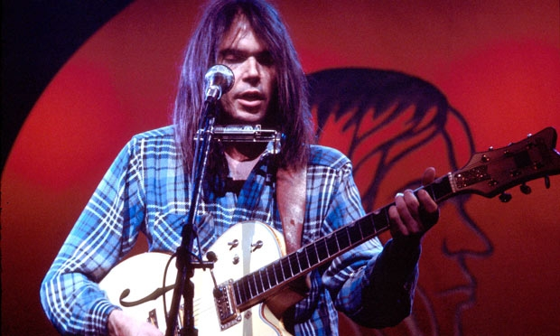 Neil Young Stops Streaming