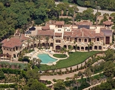 Top $$$ celeb homes...and Hugh Hefner is not #1.