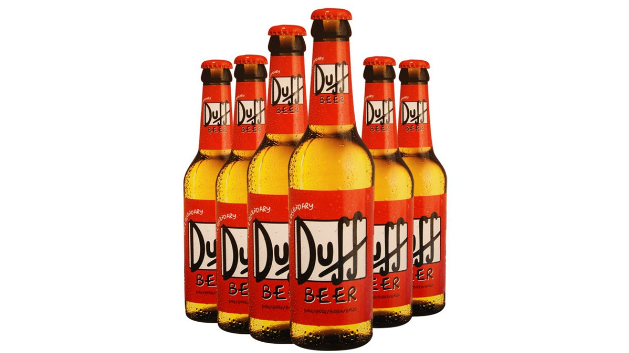 SIMPSONS' DUFF BEER TO BE BREWED AT LAST