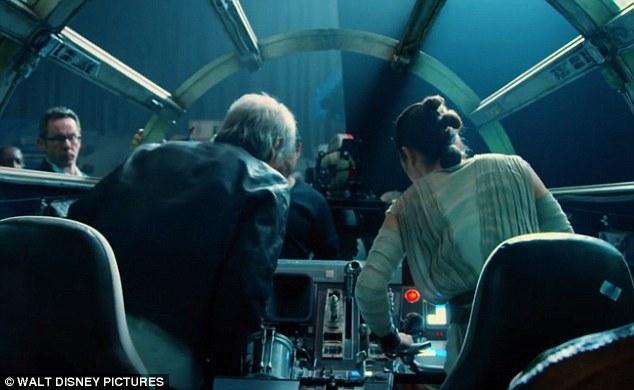 Stars Wars unveils behind-the-scenes sneak peek of The Force Awakens