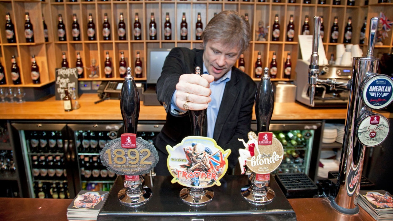 Millions of pints; How Iron Maiden Rocked The Brewing Industry