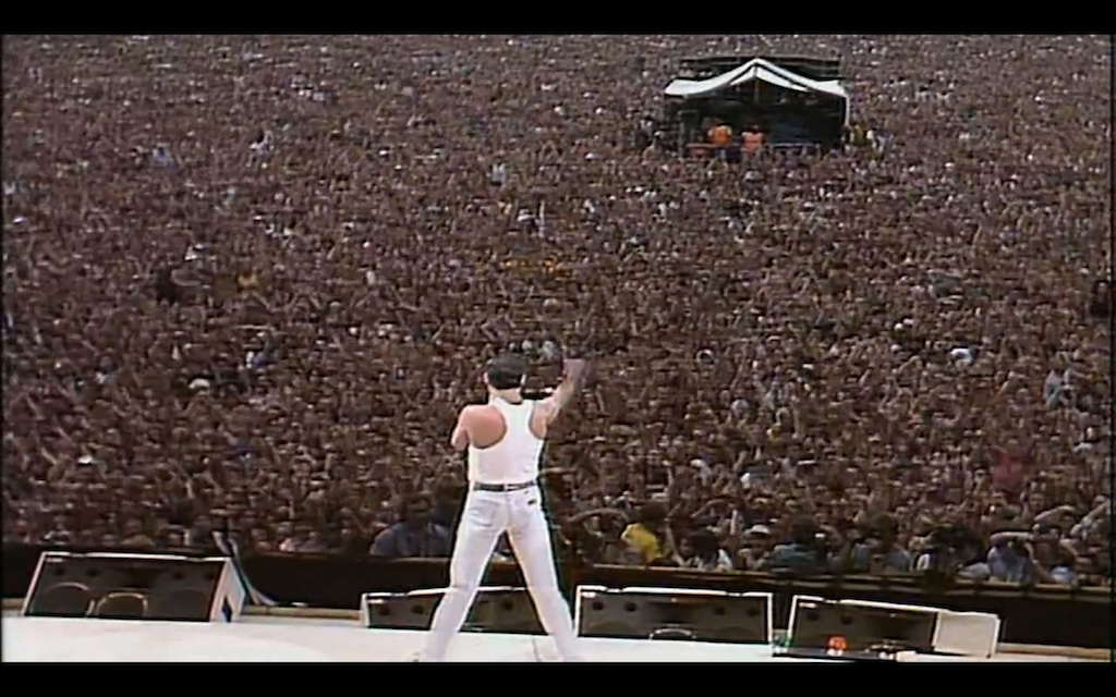 30th anniversary of LIVE AID 071385