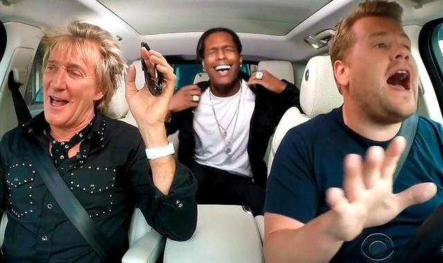 Rod Stewart talks girls, being naughty, and sings a bit of Karaoke. *VIDEO*