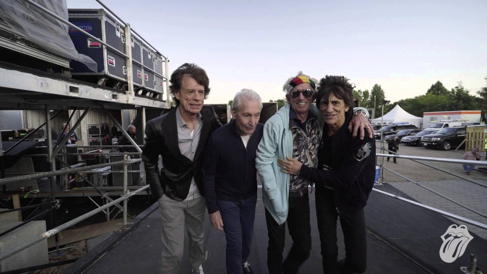 "Rolling Stones say ""thank you"" to fans. Literally. *VIDEO*"