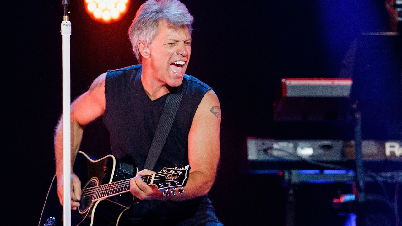 Bon Jovi Rips Record Label in new song