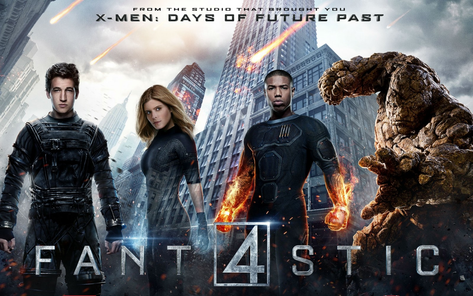 Fantastic 4: Thank goodness this dud was not filmed in Vancouver. *VIDEO*
