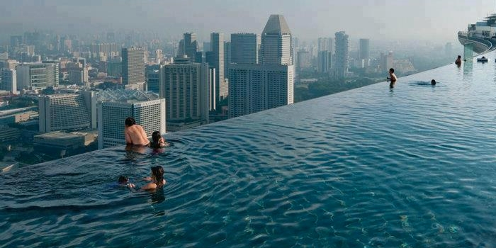 "Would you swim in a ""Sky Pool""?"
