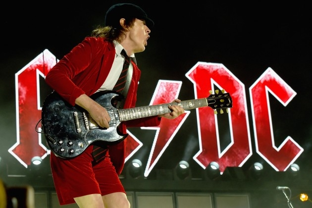ACDC celebrate last show with Axl Rose