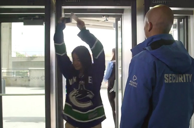 Airport-Style Security Coming To Canucks Home Games