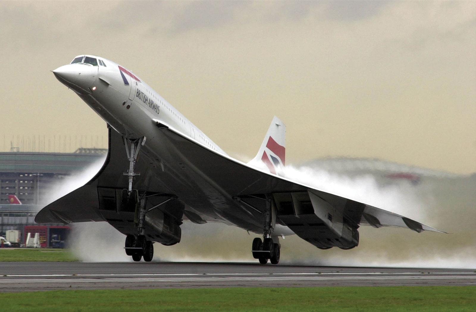 Flight of the Concorde